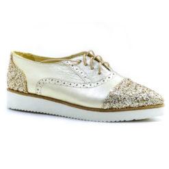 Pantofi din piele naturala Princes Oxford