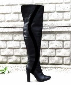 cisme peste genunchi cu toc de 10 cm