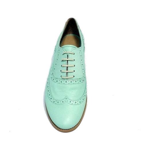 Pantofi din piele Oxford
