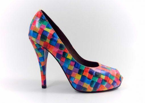 Pantofi Din piele Miraje