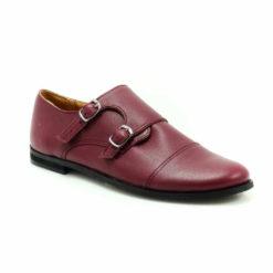 Pantofi din piele Double Strap Monk