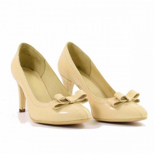 Pantofi din piele naturala Claudette