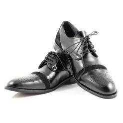 Pantofi din piele naturala Ferentz