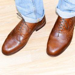 Pantofi din piele naturala Darius 3