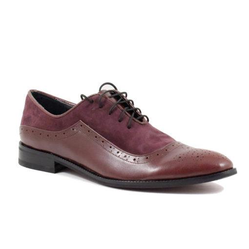 Pantofi barbati Eduard din piele naturala