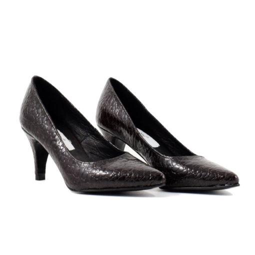 Pantofi stiletto Melly din piele naturala