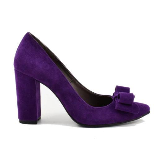 Pantofi dama mov cu funda Criss