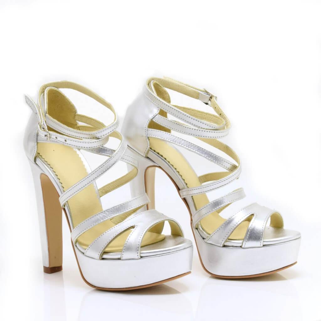 76ea1d3126c3 Sandale de dama din piele naturala