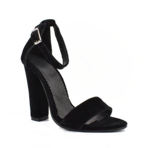 Sandale din catifea Belissima