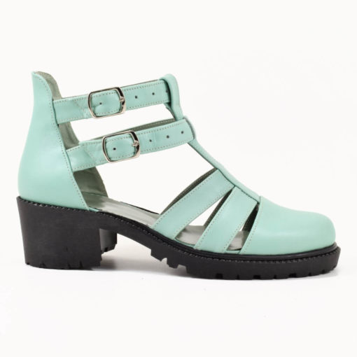 Sandale din piele naturala Olimp 01