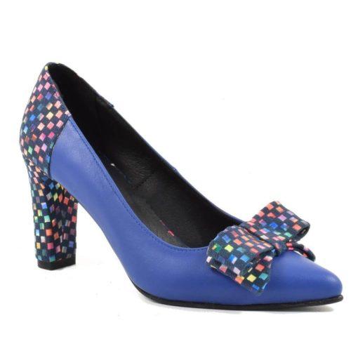 Pantofi din piele naturala Azaleea