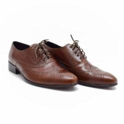 Pantofi barbatesti piele maro Marko