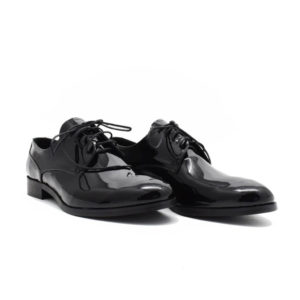 Pantofi barbatesti din piele lacuita