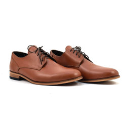 Pantofi barbati din piele naturala maro Simeone (1924)