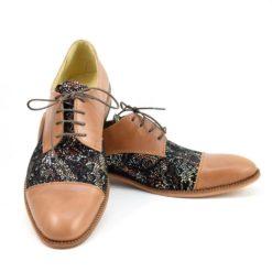Pantofi eleganti barbati, piele naturala (1926)