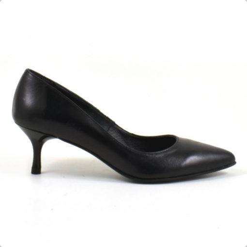 Pantofi din piele naturala neagra Mima (1937)