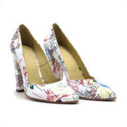 Pantofi eleganti cu toc de 11 cm